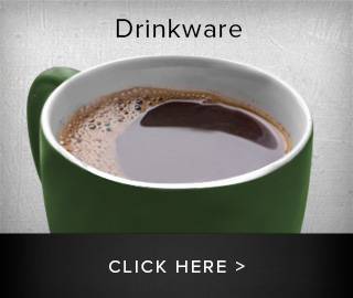 Picture of coffee cup. Drinkware, click here to shop.